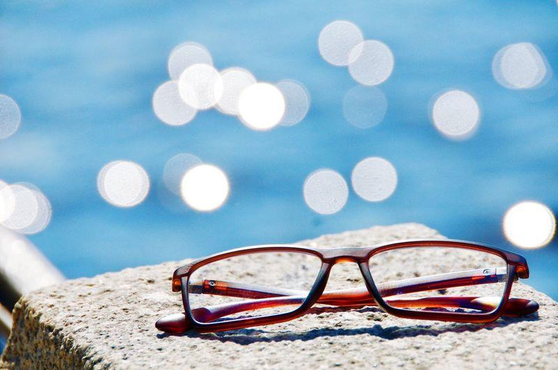 Cityscape City River Water River Riverside Eyesight Reading Glasses Defocused Eyeglasses  Eyewear Sand Summer Horn Rimmed Glasses Blue Glasses Skyscraper Waterfront