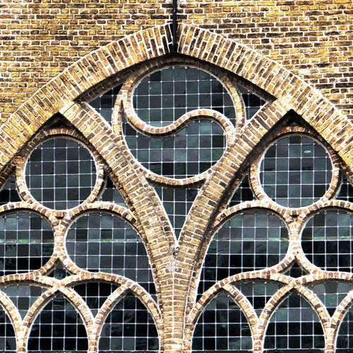 Christian church embracing yin & yang Christianity Church Church Window Yin & Yang Yingyang Protestant Church Stained Glass Stained Glass Window No Person Architecturephotography Religious Architecture Religion