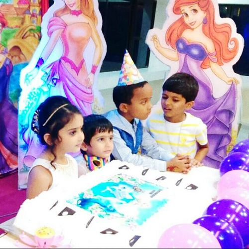 Birthday celebration.....aanvee