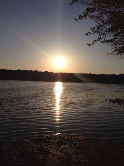 Sunset Nature Sun And Sky Reflection