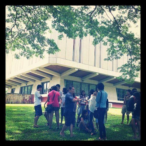 Behind-the-scenes of today's shoot UPLB Uplbkaiban Themanansala