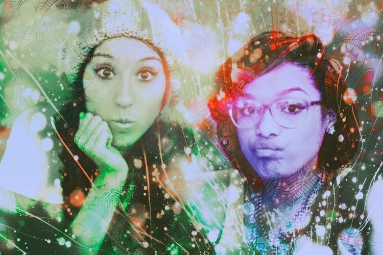 Gabby Rojas & Briona Narde (Beisik) Art Beauty
