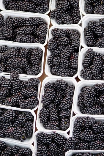 Blackberry Rasberries Full Frame Backgrounds Food And Drink Food No People High Angle View In A Row Nature Pattern Repetition Large Group Of Objects Day Abundance Fruit Healthy Eating Outdoors Agriculture Plant Order Berry Fruit