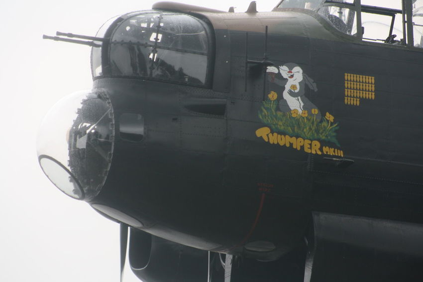 Aeroplane Canadian Lancaster Bomber Mode Of Transport No People Outdoors Stationary Thumper Ww2