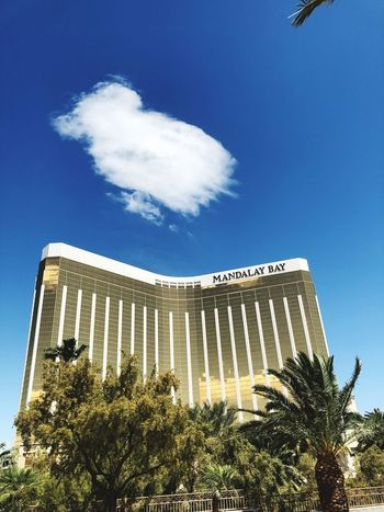 Casino Hotel Sky Low Angle View Architecture Building Exterior Built Structure Cloud - Sky Plant Outdoors City