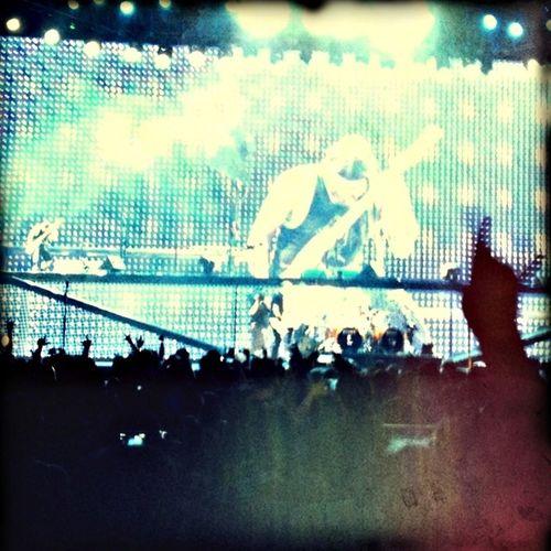 Metallica Working Hard Eye Of The Storm Nightphotography