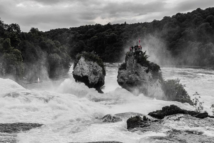 Rhinefalls, Switherland Beauty In Nature Black And White Blackandwhite Exposure Eye4photography  EyeEm Best Shots Horizon Over Water Motion Nature Nature Nature On Your Doorstep Outdoors Power In Nature People And Places Rheinfall Rhinefalls Rippled Rock Scenics Speed Splashing Starting A Trip Water Waterfront Wave