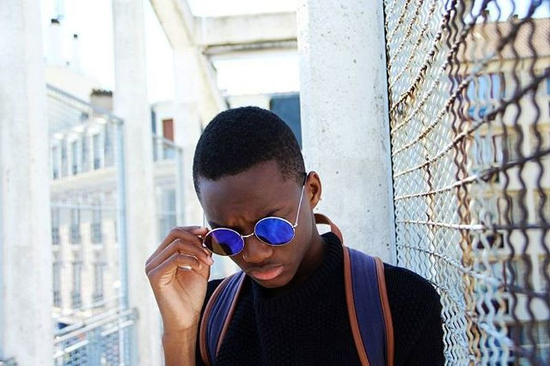 Summer day 🌞✌ Model:@__westafrica_ 👈👌 Youtuber Mensfashion Ig You Instagood Black Paris 28 FR Happy Enghien Fashion Picture Photograpy Glassesswag Hlys Like Wisetag Love Summer Summe