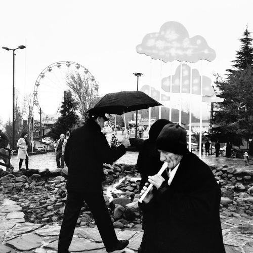 First Eyeem Photo IPhoneography Everyday People Uspiran Alipix 1394 My Love Black & White Lahijan ©Ali Nazariatjoo