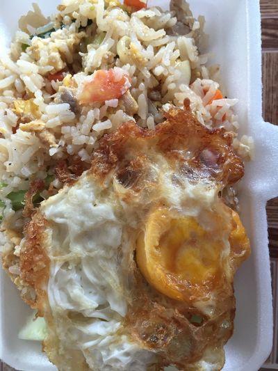 Thai Foods Fire Rice