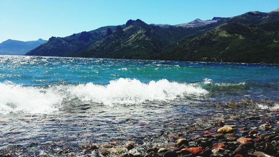 Lake Lago Patagonia Argentina Enviroment Paisajes Agua Water Stone Piedras