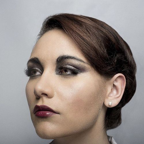 Model: Kitty Underhill, MUA: Thania Shabnum Makeup Nickblak Newwork Beautyshot
