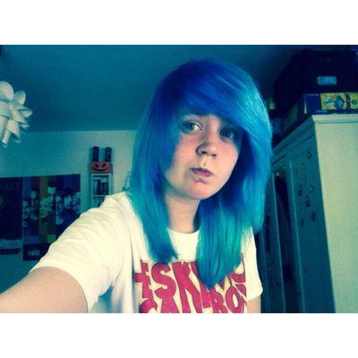 Me.~ BlueHair Girl Scenehair EskimoCallboy First Eyeem Photo