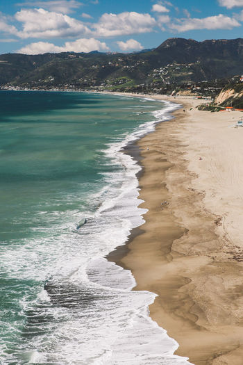 California Malibu Point Dume Aerial View Beach Beauty In Nature Cloud - Sky Day Landscape Mountain Nature No People Outdoors Sand Scenics Sea Shore Sky Tranquil Scene Tranquility View From Above Water Wave Done That. Been There. California Dreamin