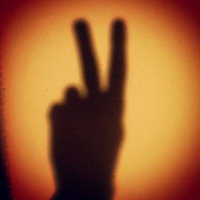 Shadow Hand Sun Wall morning house like world peace win me