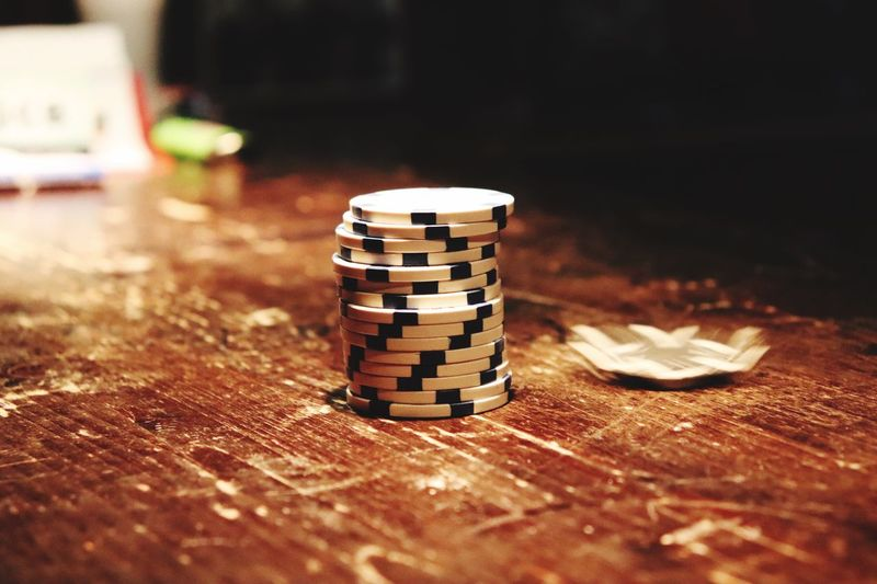 Poker Wood - Material Still Life Indoors  No People Close-up Selective Focus Stack Wood Arts Culture And Entertainment First Eyeem Photo