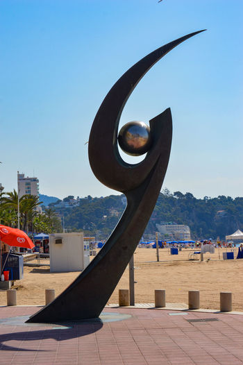 Architecture Built Structure Clear Sky Curves Day Lloret De Mar Lloret De Mar Beach Outdoors Sculpture Sky