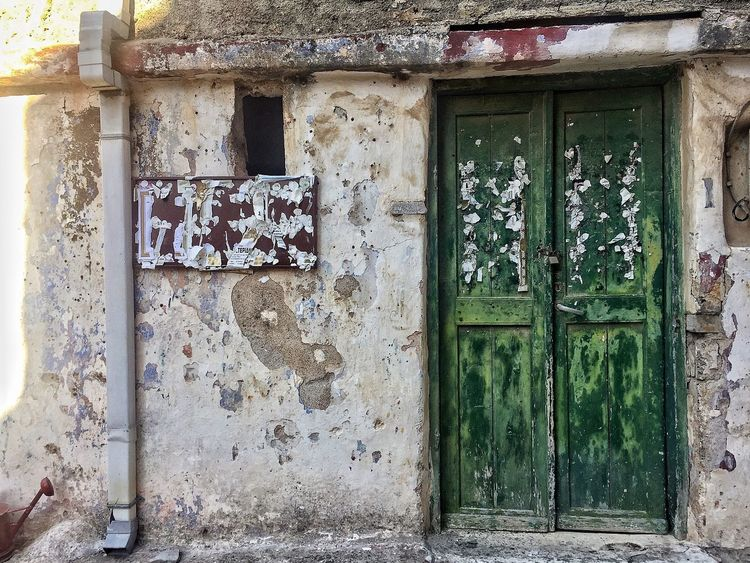 Door Built Structure Architecture Entrance Day Building Exterior Outdoors House No People Close-up Mesta Greece Land Greece GREECE ♥♥ Chios Chios Greece