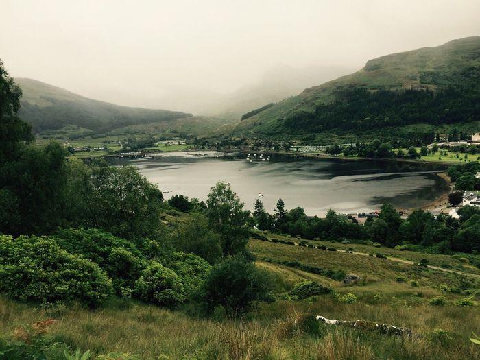 Mountain Beauty In Nature Nature Scenics Water Tranquil Scene Landscape Outdoors Fog Sky Scotland The Week On EyeEm The Week On EyeEm
