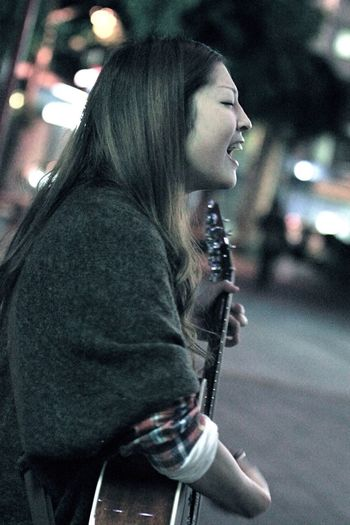 Her Name Is Sayuri Murakami. She Is A Singer-songwriter. She Is Very Good At A Song. She Can Be Known By YouTube. I Think That The Day Which Makes Its TV Debut Is Near.(17)