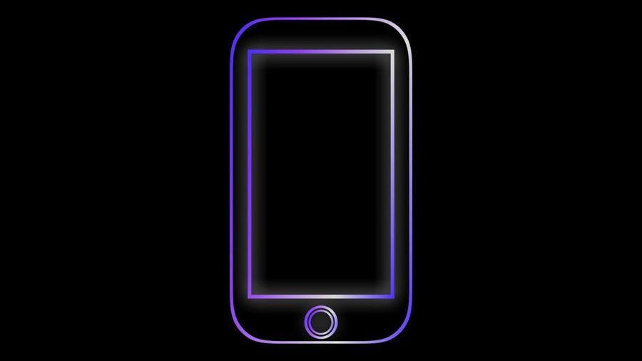 Neon Frame The background of the glowing frame has space for your text or piece of work. Present the presentation concept Box Frame It! Neon Frame Not Present The Presentation Concept Designated Glowing Frame Illustration Selective Focus Smartphone Space For Your Text