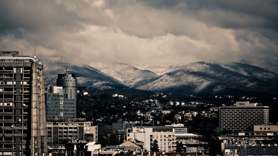 EyeEm Selects Mountain Architecture Cityscape City No People Sky Outdoors Mountain Range Beauty In Nature Nature Building Exterior