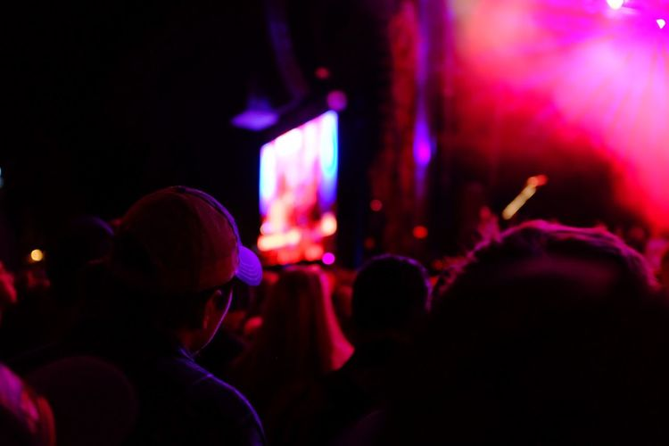 Gary Clark Jr. Blues And Brews Telluride Colorado Mountains Outdoors Concert Show Night Nightphotography Night Photography Fujifilm FUJIFILM X100S
