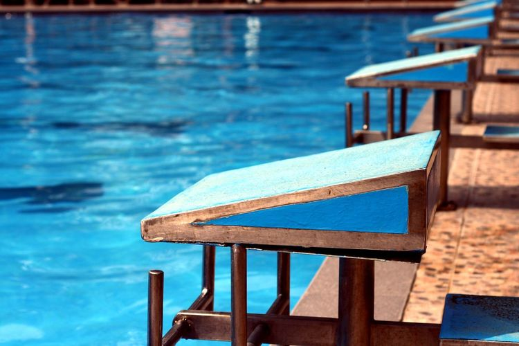 diving platforms and a swimming pool Competition Contest Dive Diver Diving Platform Recreation  Sport Swim Swimming Swimming Pool Water Water Sports Wet