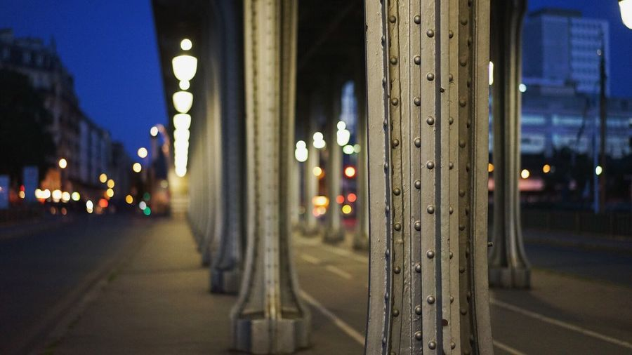 Inception. Paris France Pont De Bir-hakeim Night Nightphotography Night Lights Night Photography Night View