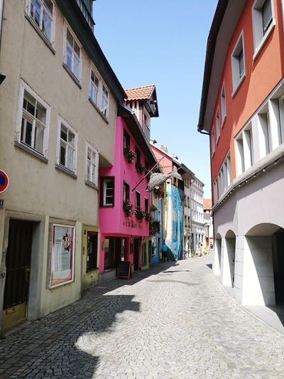 Lindau Travel Destinations Architecture Multi Colored Building Exterior Vacations Outdoors City Lindau Bodensee Lindau Bodensee Lake Constance