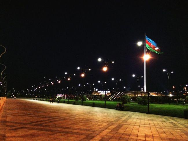 Azerbaijan Baku Habibiphotos Light And Shadow Walking Around Enjoying The View Streetphotography Enjoying Life View Flags