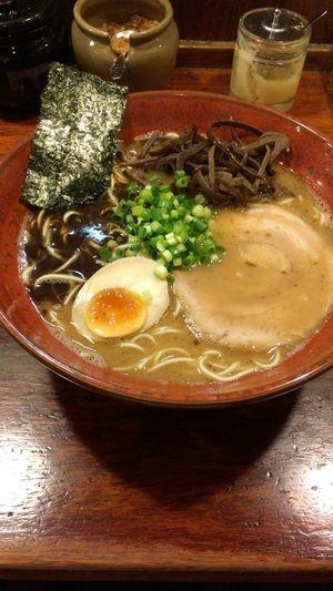 店の中のにおいはすごかったけど、熊本ラーメン美味かった〜 双喜 Food And Drink Gunma Japan Maebashi-city Ramen