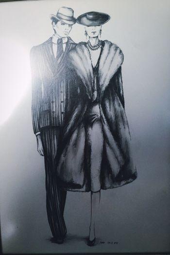 Madeleine Blackandwhite Mode Painting Art Malen Zeichnung  Zeichnen Künstler IPhoneography Gallery