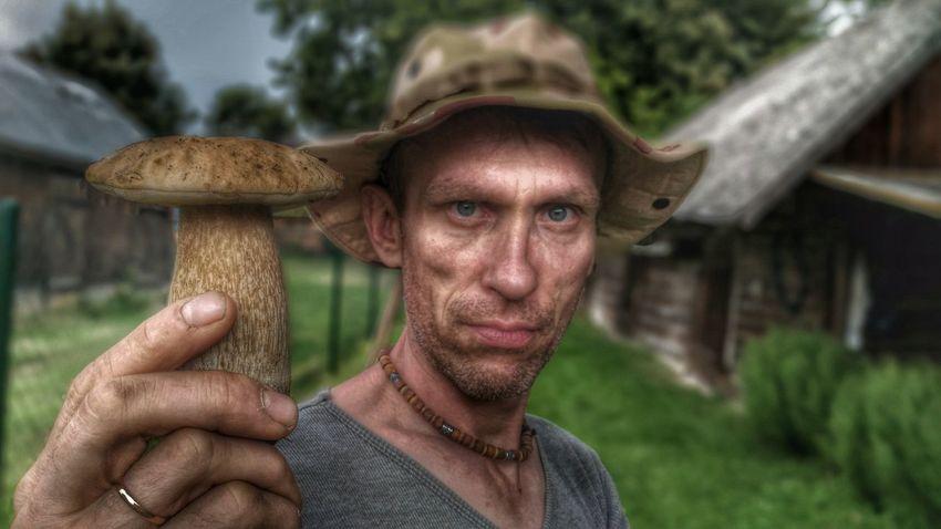 Hello World Self Portrait Underground Thats Me  Mushroms Podlasie HDR беларусь Telephone