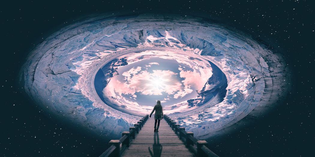 Entrada do Céu, walking sky Céu A Caminho Do Céu Caminhando Para O Céu Espaço One Person Pessoa Iluminada Q Admiro Grande Mercia Brito Sky Sky Door Walking Sky