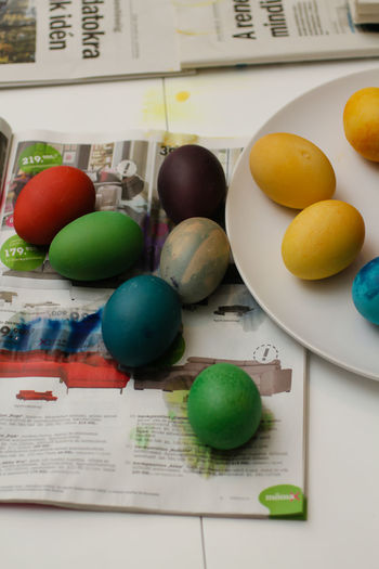 Egg Dyeing  Easter Easter Eggs Easter Eggs On Display Easter Holidays Colouring Eggs Egg Dying Eggs Kid Colouring Egg