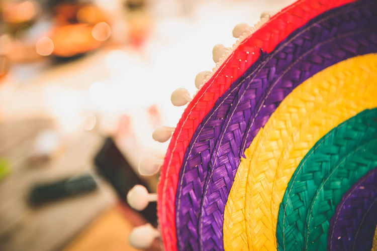 Celebration Close-up Colourful Day Holiday - Event Mexican Mexican Hat Multi Colored Sombrero