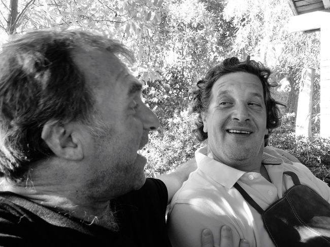 Brothers..... Two People Happiness For Ever Viña Del Mar Capture The Moment Blackandwhite Photography EyeEm Gallery Taking Photo Eyeemphoto Enyoy The New Normal