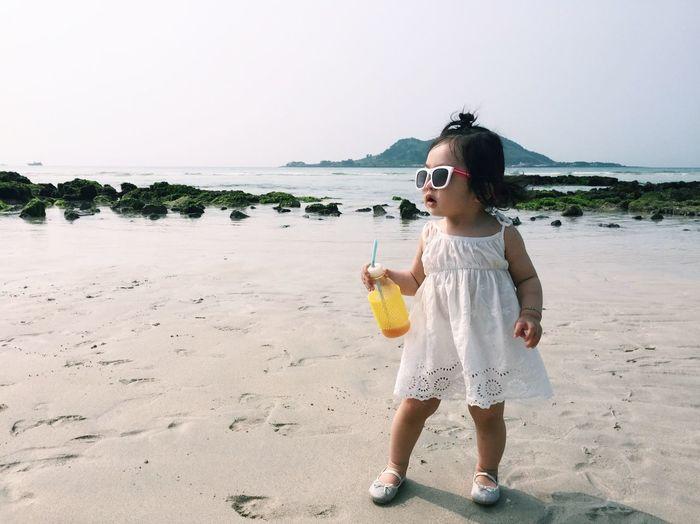 Babygirl Baby Portrait Cute Lovely Traveling JEJU ISLAND  Jeju