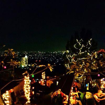 Mandatory night-view shot from the beautiful restaurant ? Explorebandung