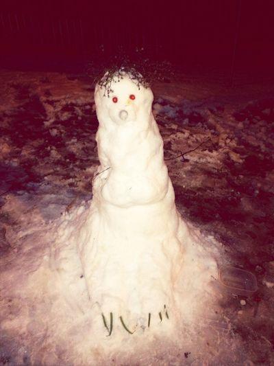 Bulding A Snowman!