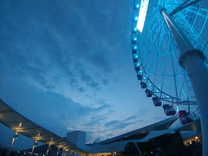 The Eye Illuminated Night Amusement Park Low Angle View Amusement Park Ride Sky Dusk Travel Destinations City Outdoors Blue Lgv20photography Learn & Shoot: Simplicity LGphotography Indonesia_photography Low Angle View Qualitytime INDONESIA Shooting Photos Blessedandthankful Standing Aeon Mall Æon Mall