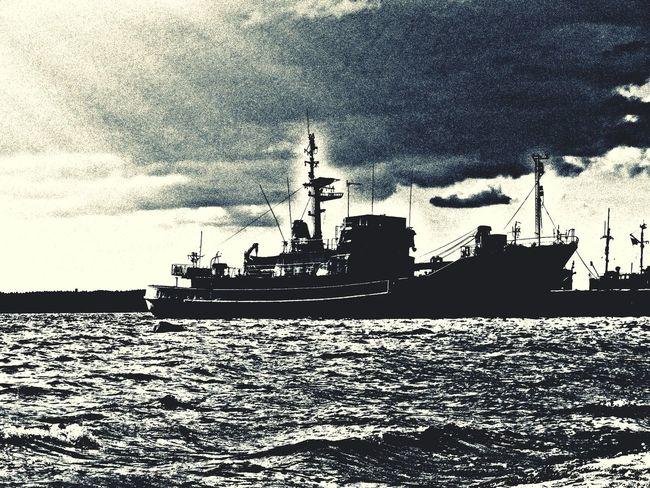 море порт корабль судно черно-белое First Eyeem Photo