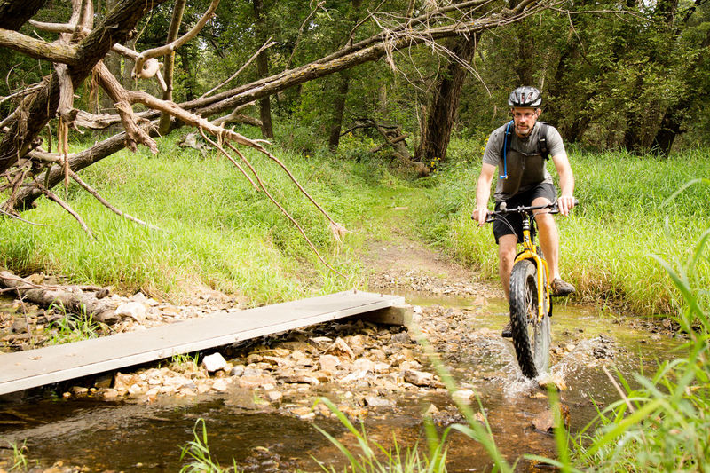 Outdoors Escaping Summertime Water Summer Riding Bike Bike Bikes On Your Bike Fatbike Cycling Cyclist Adventure Dirty