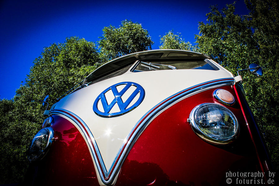Bulli Car Close-up Day Foturist No People Outdoors VW Vwbulli VWbus Werkswagen