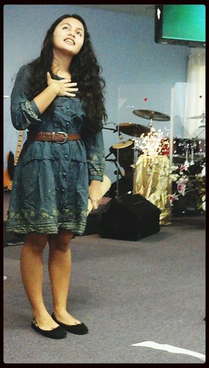 """Performed Esther at a church today. Plus gave an update on how the missions layf is going. """"Oh how I would love to be a queen!"""" Sunday Church Esther First Eyeem Photo"""