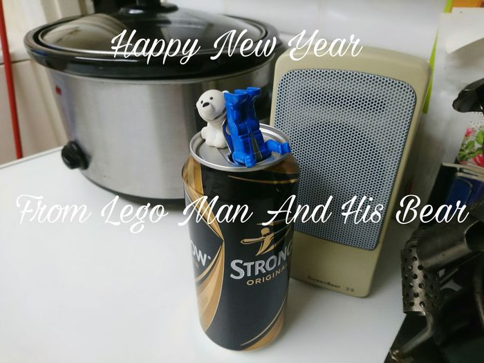 Toy Toyphotography LEGO Lego Man Legophotography Bear Cider Strongbow Cider Happy New Year 2017