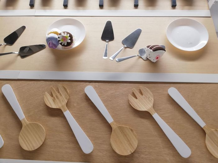 EyeEm Selects Directly Above High Angle View Table Arrangement Pastry Cutter Rolling Pin Knolling - Concept Gingerbread Cookie Making A Cake Candy Heart Cookie Colored Pencil Cupcake Holder Rolling