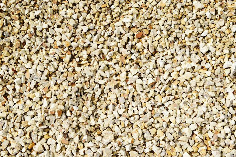 Full frame shot of gravels