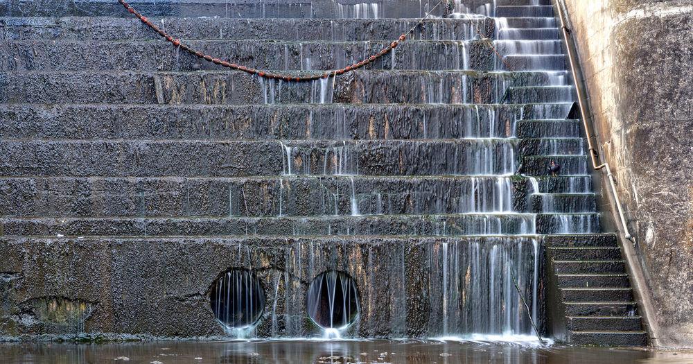Built Structure Dam Day Outdoors Water Weir